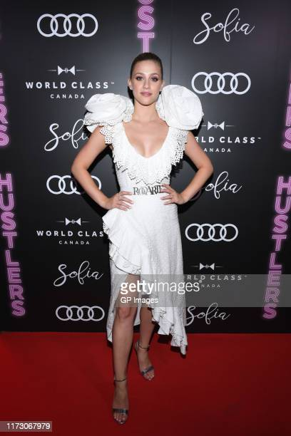 Lili Reinhart attends the Audi Canada Sofia and World Class postscreening event for Hustlers during the Toronto International Film Festival at Sofia...