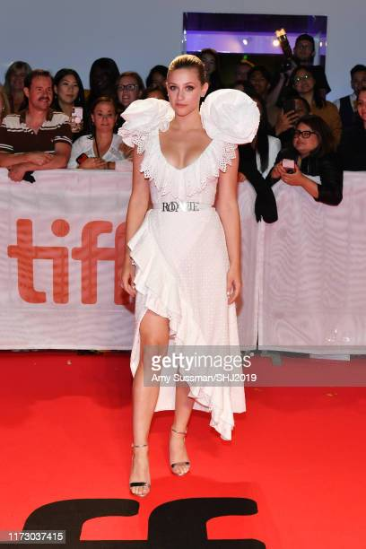 Lili Reinhart attends the Hustlers premiere during the 2019 Toronto International Film Festival at Roy Thomson Hall on September 07 2019 in Toronto...