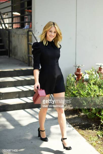 Lili Reinhart attends the new HM Westfield Century City opening at Century City Mall on August 28 2018 in Century City California