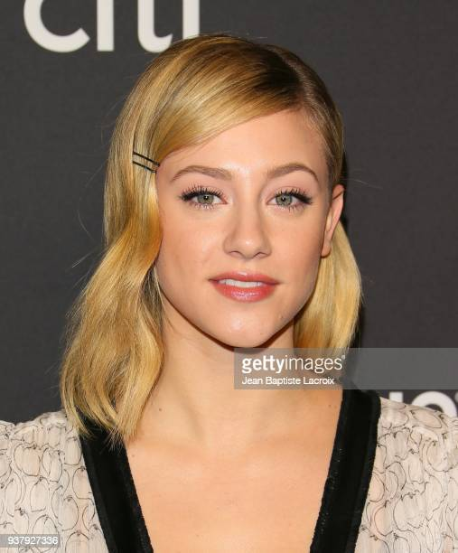 Lili Reinhart attends The Paley Center For Media's 35th Annual PaleyFest Los Angeles 'Riverdale' at Dolby Theatre on March 25 2018 in Hollywood...