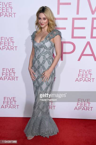 """Lili Reinhart attends the Premiere Of Lionsgate's """"Five Feet Apart"""" at Fox Bruin Theatre on March 07, 2019 in Los Angeles, California."""
