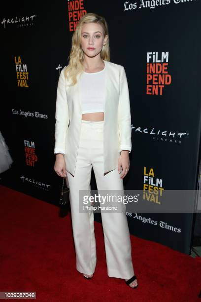 Lili Reinhart attends the screening of Galveston during the 2018 LA Film Festival at ArcLight Culver City on September 23 2018 in Culver City...