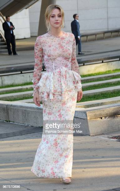 Lili Reinhart is seen on June 4 2018 at the 2018 CFDA Fashion Awards in New York City