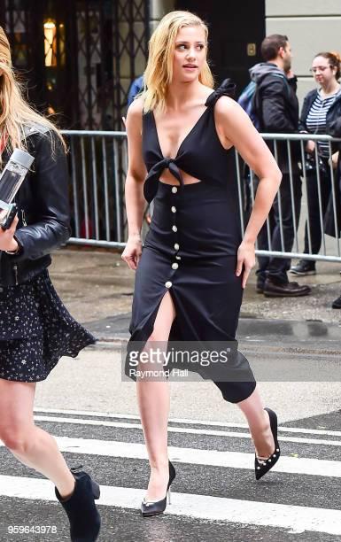 Lili Reinhart is seen walking in midtown on May 17 2018 in New York City