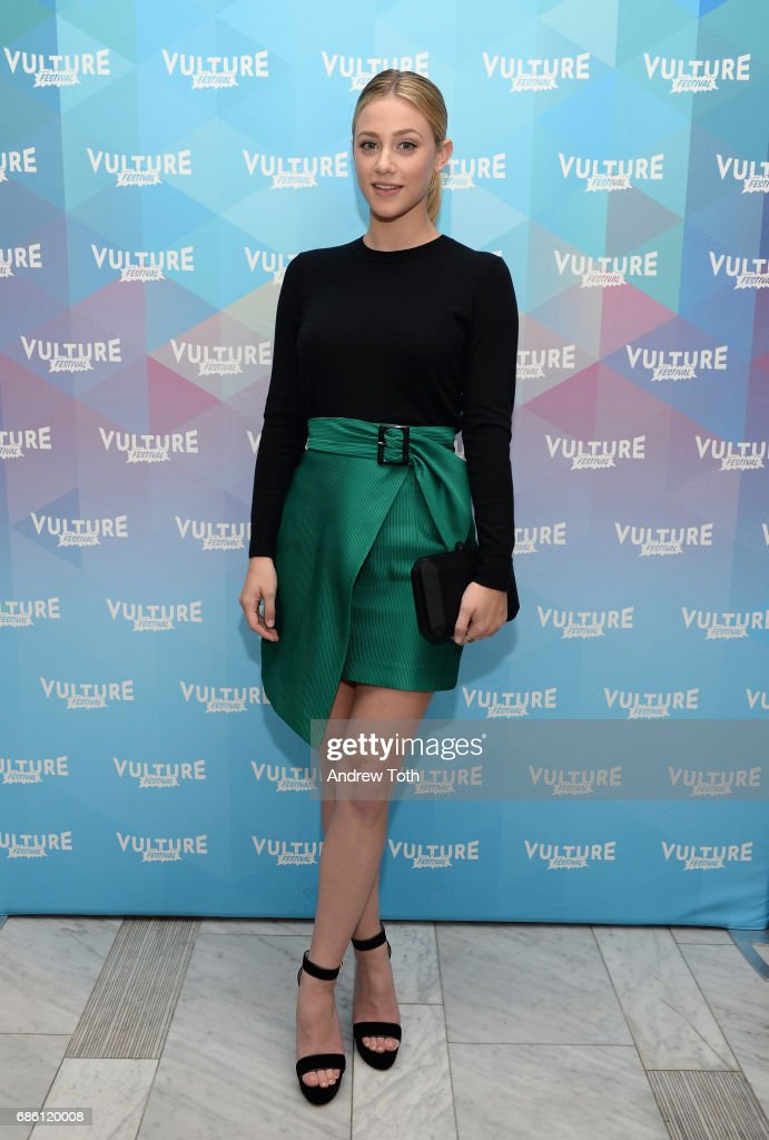 Lili Reinhart of Riverdale series attends the Vulture Festival at The Standard High Line on May 20, 2017 in New York City.