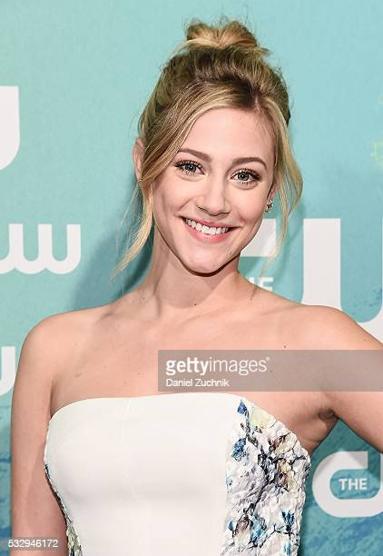 Lili Reinhart of the series 'Riverdale' attends The CW Network's 2016 New York Upfront at The London Hotel on May 19 2016 in New York City