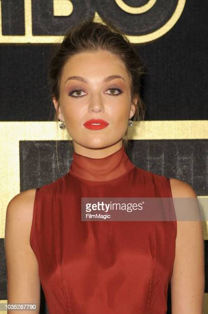 Lili Simmons arrives at HBO's Official 2018 Emmy After Party on September 17 2018 in Los Angeles California