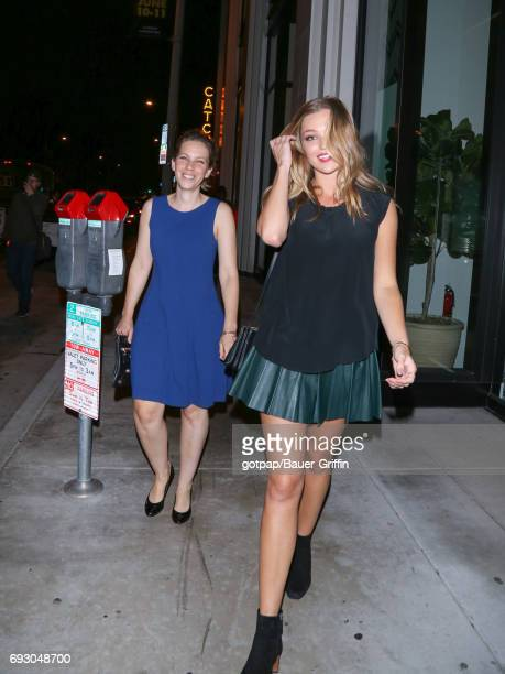 Lili Simmons is seen on June 05 2017 in Los Angeles California