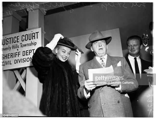 Lili St Cyr 25 October 1951 Attorney Jerry Geisler