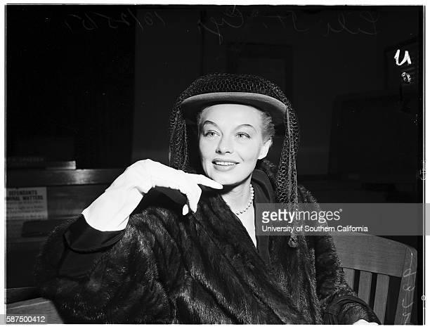 Lili St Cyr Attorney Jerry Geisler October 25 1951