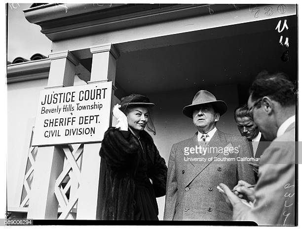 Lili St Cyr Attorney Jerry Geisler October 25 1951