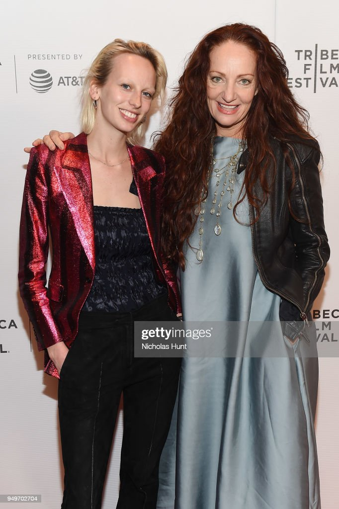 Lili Sumner and Pietra Brettkelly attend a screening of 'Yellow Is Forbidden' during the 2018 Tribeca Film Festival at Cinepolis Chelsea on April 21, 2018 in New York City.