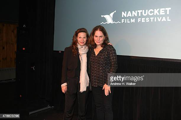 Lili Taylor and Elizabeth Giamatti attend the screening of A Woman Like Me during the 20th Annual Nantucket Film Festival Day 4 on June 27 2015 in...