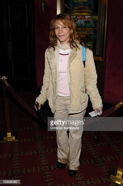 """Lili Taylor during """"The Life Aquatic with Steve Zissou"""" New York Premiere - Inside Arrivals at Ziegfeld Theater in New York City, New York, United..."""