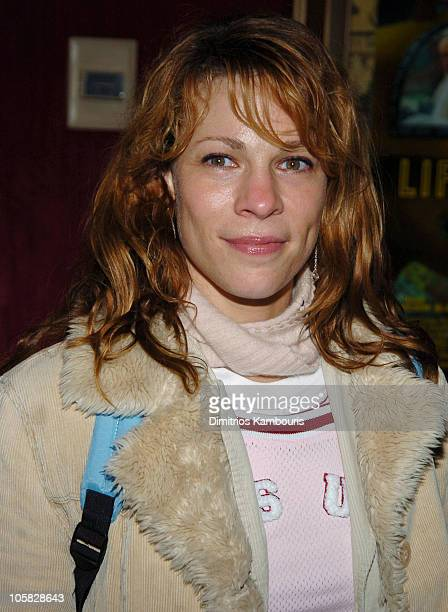 "Lili Taylor during ""The Life Aquatic with Steve Zissou"" New York Premiere - Inside Arrivals at Ziegfeld Theater in New York City, New York, United..."
