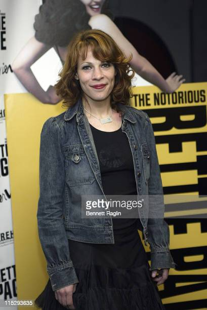 Lili Taylor during The Notorious Bettie Page New York City Premiere Arrivals at AMC Loews in New York City New York United States