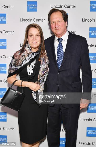 Lilia Bloom and Barry Bloom attend the Winter Gala at Lincoln Center at Alice Tully Hall on February 13 2018 in New York City