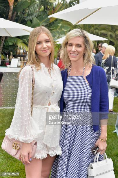 Lilia Buckingham and Jane Buckingham attend 2018 Best Buddies Mother's Day Brunch Hosted by Vanessa Gina Hudgens on May 12 2018 in Malibu California