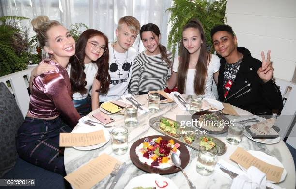 Lilia Buckingham Anna Cathcart Carson Lueders Annie LeBlanc Jayden Bartels and Bryce Xavier attend TigerBeat And Instagram's 3rd Annual 19Under19...