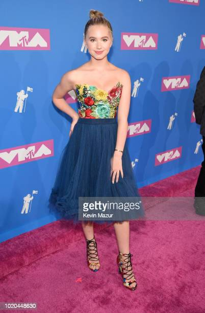 Lilia Buckingham attends the 2018 MTV Video Music Awards at Radio City Music Hall on August 20 2018 in New York City