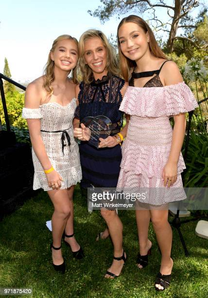 Lilia Buckingham Jane Buckingham and Maddie Ziegler attend Children Mending Hearts' 10th Annual Empathy Rocks on June 10 2018 in Los Angeles...