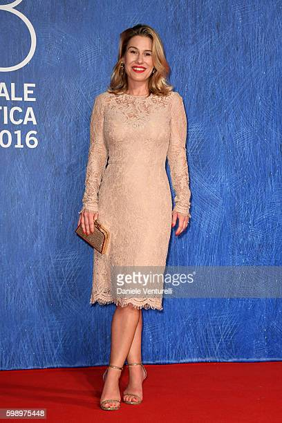 Lilia Soria attends the premiere of 'In Dubious Battle' during the 73rd Venice Film Festival at Sala Giardino on September 3, 2016 in Venice, Italy.