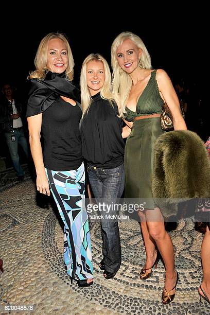 Lilian Brobeaux Guest and Katrina Peebles attend HRH Prince Dimitri of Yugoslavia Jewelry Collection Presentation at Casa Casuarina on December 3...