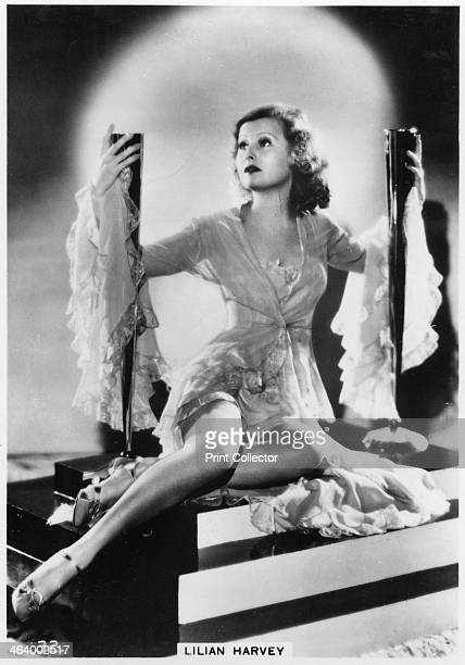 Lilian Harvey Britishborn German film actress c1938 Lilian Harvey spent most of her acting career in Germany although she made 4 Hollywood pictures...