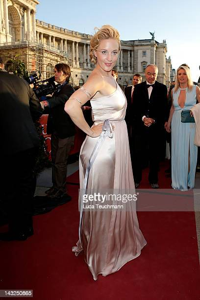 Lilian Klebow attends the 23nd KURIER ROMY Gala at the Hofburg on April 16 2011 on April 21 2012 in Vienna Austria
