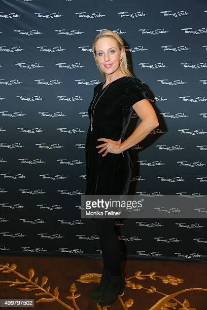 Lilian Klebow attends the Thomas Sabo Brand Event at Park Hyatt on December 3 2015 in Vienna Austria