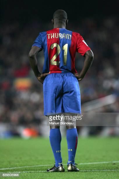 Lilian THURAM FC Barcelone / Atletico Madrid 16eme Journee de Liga