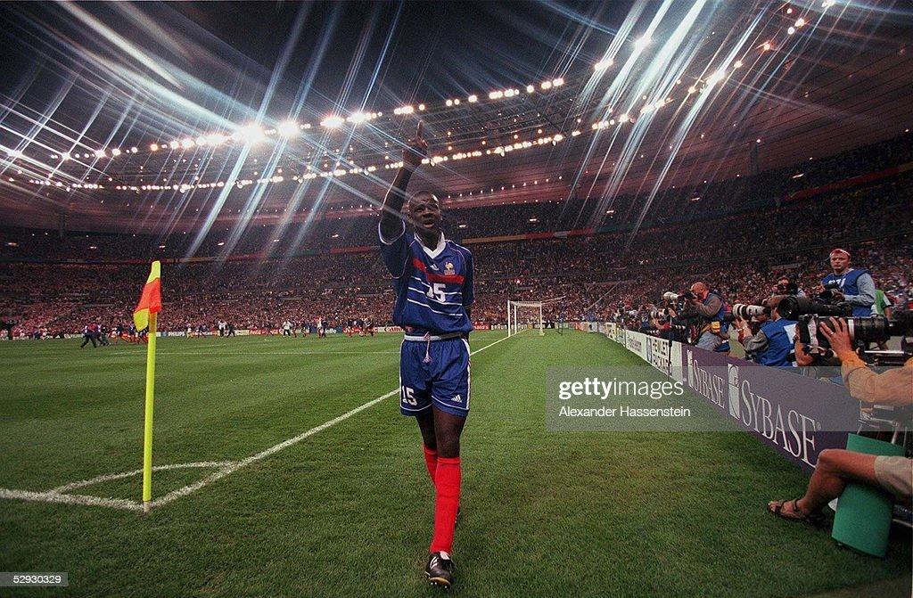 FUSSBALL: WM FRANCE 98 St. Denis, 08.07.98 : Photo d'actualité