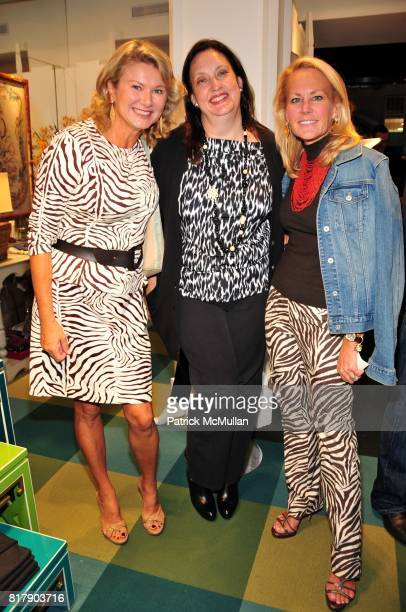 Liliana Cavendish Alison Mazzola and Muffie Potter Aston attend Opening Party for the new Lexington Avenue J McLaughlin Stores at 1004 Lexington Ave...