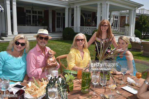 Liliana Cavendish William Cavendish Anne Hearst McInerney Nicole Miller and Debbie Bancroft attend A Maison de Mode Summer Fete hosted by Amanda...