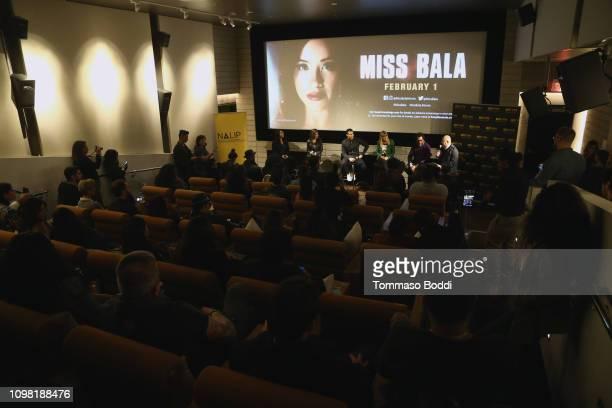 Liliana Espinoza Ana Flores Ismael Cruz Cordova Catherine Hardwicke Pablo Cruz and Ben Lopez attend the Sony Pictures Entertainment NALIP Presents...