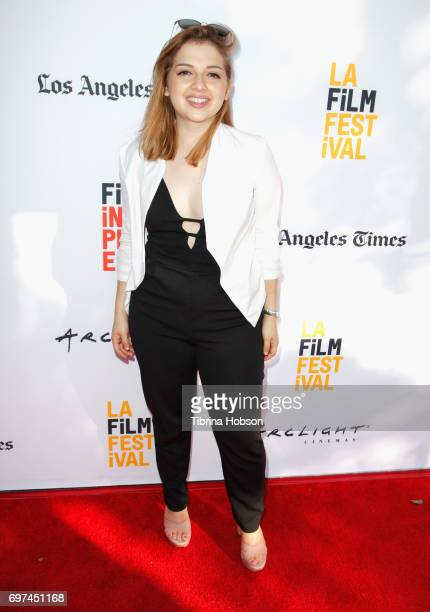Liliana Granados attends Shorts Program 6 during 2017 Los Angeles Film Festival at Arclight Cinemas Culver City on June 18 2017 in Culver City...