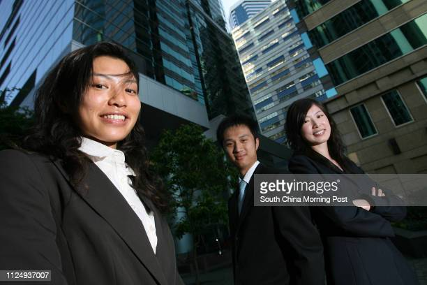 Liliana Lau Waisze Perry Pang Kamfai and Jenny Lau Chunni share their experience in Business Orientation Programme organised by the American Chamber...