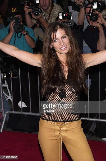 Liliana Lovell owner of the real Coyote Ugly during Coyote Ugly New York Premiere at Ziegfeld Theatre in New York City New York United States