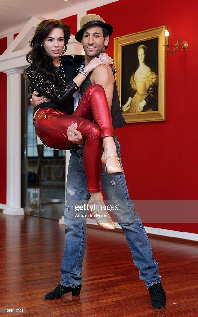 Liliana Matthaeus Trains For Let's Dance TV Show
