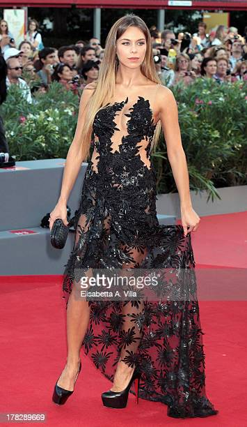Liliana Matthaeus attends 'Gravity' Premiere and Opening Ceremony during the 70th Venice International Film Festival at the Palazzo del Cinema on...