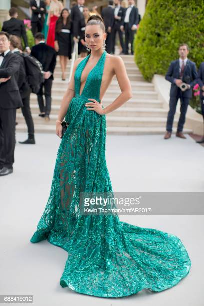 Liliana Matthaeus attends the amfAR Gala Cannes 2017 at Hotel du CapEdenRoc on May 25 2017 in Cap d'Antibes France