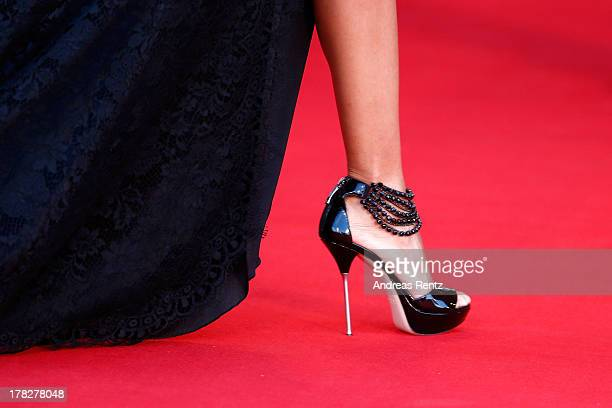 Liliana Matthaeus attends the Opening Ceremony And 'Gravity' Premiere during the 70th Venice International Film Festival at the Palazzo del Cinema on...