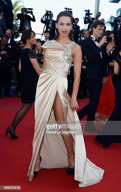 Liliana Matthaeus attends the 'Zulu' Premiere and Closing Ceremony during the 66th Annual Cannes Film Festival at the Palais des Festivals on May 26...