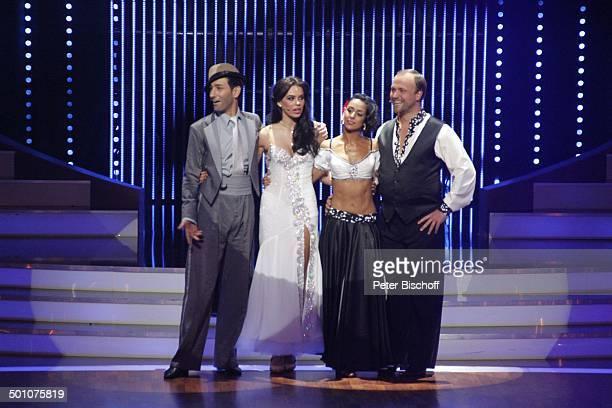 Liliana Matthäus mit Tanzpartner Massimo Sinató , Moritz A. Sachs mit Tanzpartnerin Melissa Ortiz-Gomez, Viertelfinale der 4.Staffel der RTL-Tanzshow...