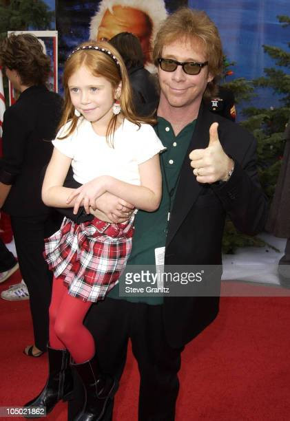 Liliana Mumy Bill Mumy during 'The Santa Clause 2' Premiere at El Capitan Theatre in Hollywood California United States