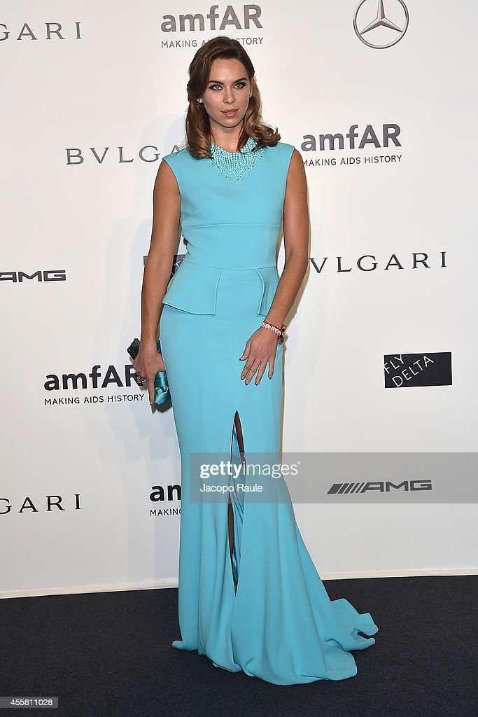 amfAR Milano 2014 - Arrivals - Milan Fashion Week Womenswear Spring/Summer 2015