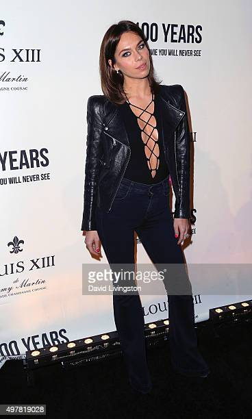 Liliana Nova attends LOUIS XIII toasts to '100 Years The Movie You Will Never See' at the Sheats Goldstein residence on November 18 2015 in Los...