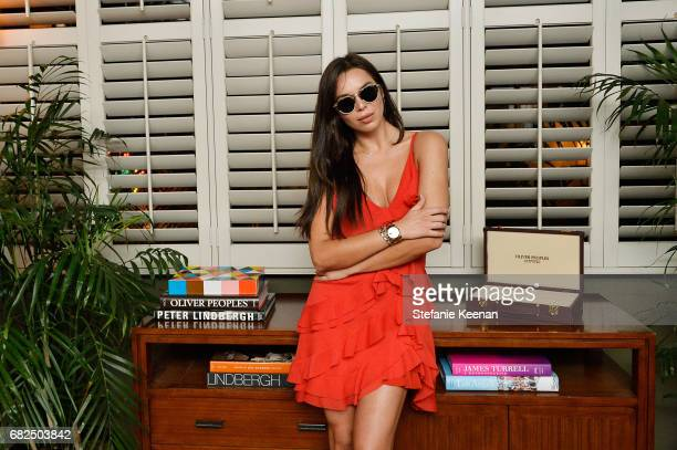 Liliana Nova attends Oliver Peoples 30th Anniversary Party on May 12 2017 in Los Angeles California