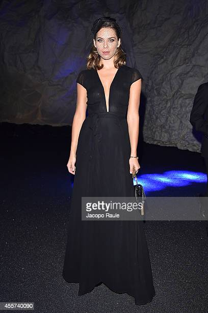 Liliana Nova attends Philipp Plein Fashion Show during Milan Fashion Week Womenswear Spring/Summer 2015 on September 19 2014 in Milan Italy