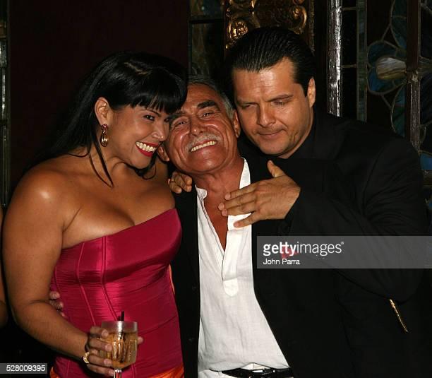 Liliana Rodriguez Hector Suarez and Ariel Lopez Padilla